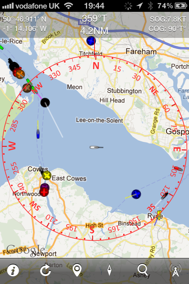 Ship Traffic Map.Boat Beacon Real Time Marine Traffic And Ship Finder Ais