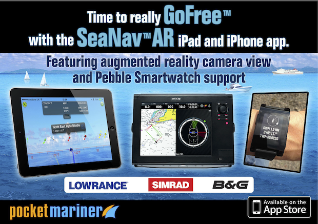 SeaNav and Simrad,Lowrance and B&G GoFree at METS.
